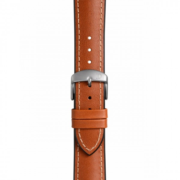 """Leather Rubber Strap """"James"""""""