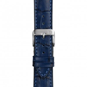 Leather Strap with Alligator Embossing