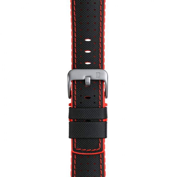 "Leather Rubber Strap ""Robby"""